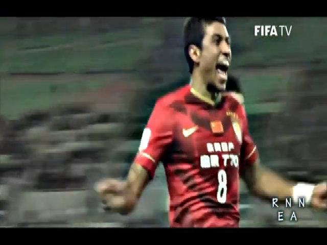 Paulinho toả sáng ở giải Trung Quốc