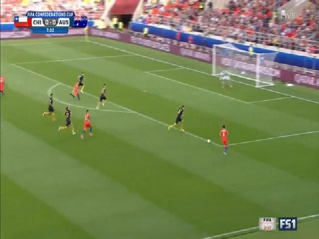 Chile 1-1 Australia