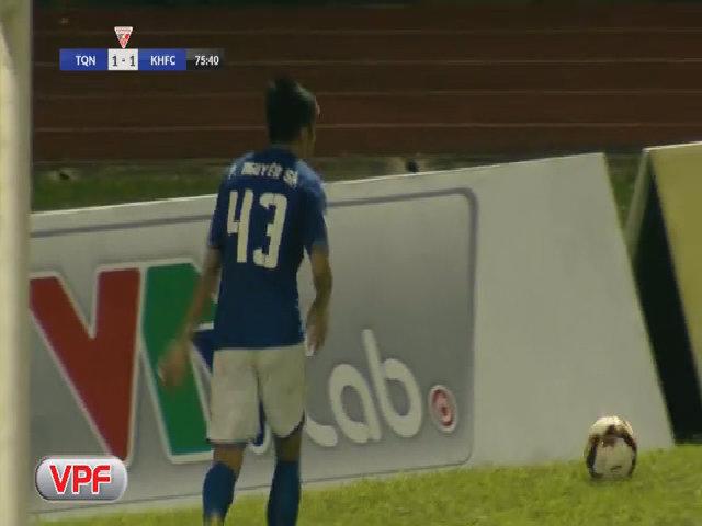 Quảng Ninh 2-1 Khánh Hòa