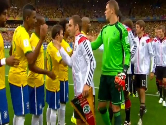 Bán kết World Cup 2014: Brazil 1-7 Đức
