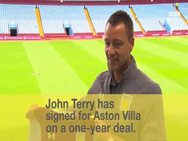 John Terry đầu quân cho Aston Villa