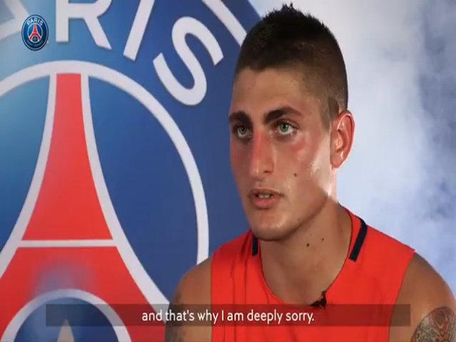 Verratti xin lỗi, cam kết ở lại PSG