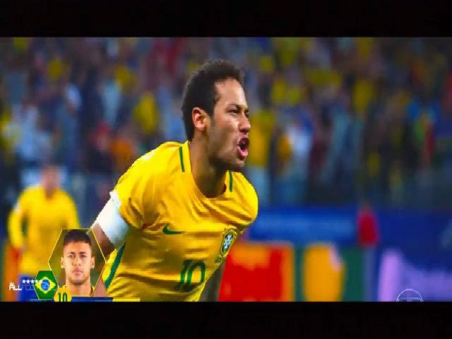 Neymar trình diễn kỹ thuật