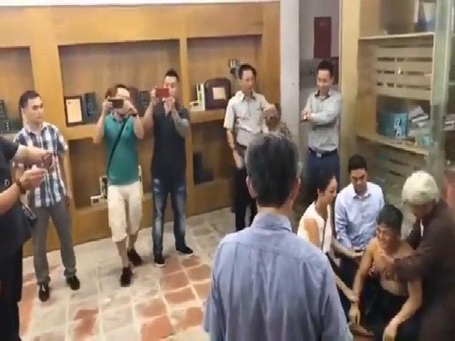 Võ sư Đoàn Bảo Châu gục ngã sau đánh của Flores