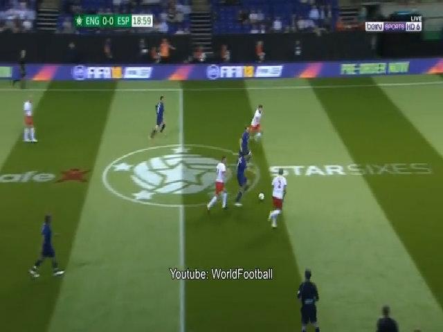 Anh 1-4 Tây Ban Nha (giải Star Sixes)