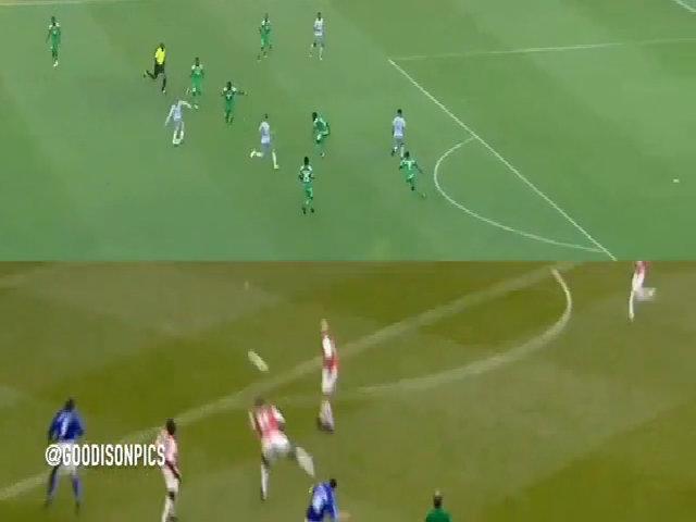 Rooney ghi bàn từ 30 mét, gợi nhớ về bàn thắng tương tự vào lưới Arsenal năm 2002