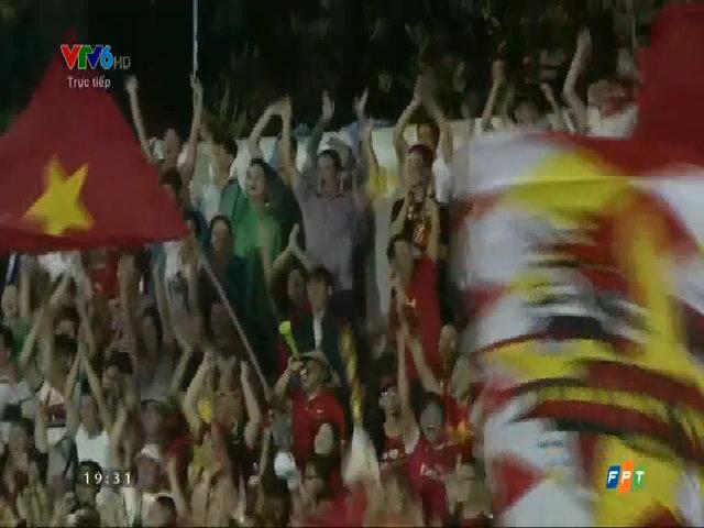 Công Phượng gỡ hòa 1-1 cho Việt Nam