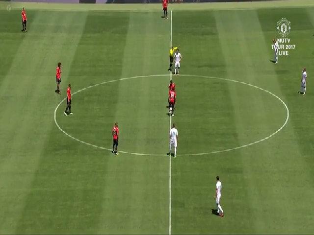 Real Madrid 1-1 Man Utd (pen 1-2)