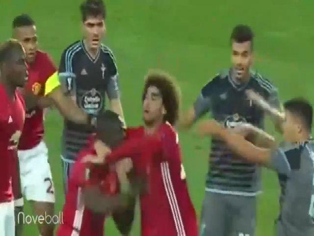 Bailly nhận án phạt từ UEFA