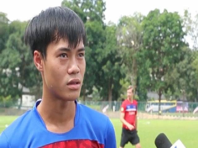 Văn Toàn: 'U22 Việt Nam có cơ hội giành HC vàng SEA Games'