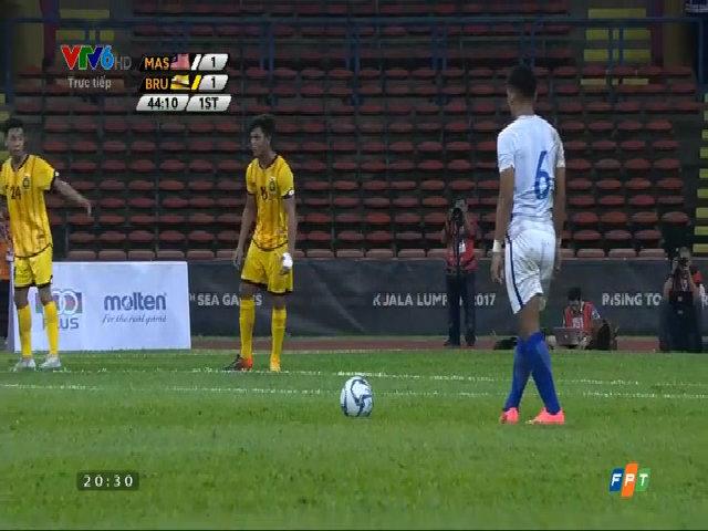 Malaysia 2-1 Brunei