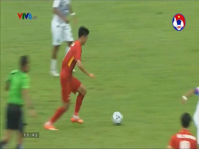 2 bàn thắng của Văn Hậu