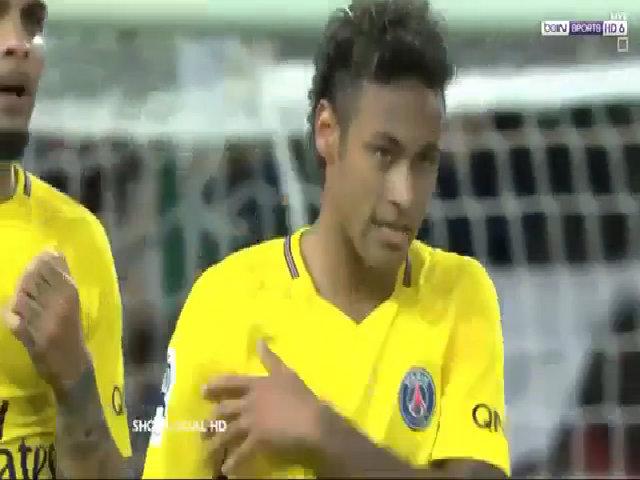 Guingamp 0-3 PSG Neymar debut
