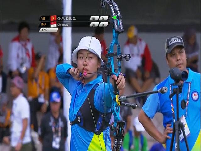 Việt Nam giành huy chương đầu tiên tạiSEA Games 29