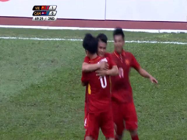 Truyền hình trực tiếp: U22 Việt Nam - U22 Campuchia