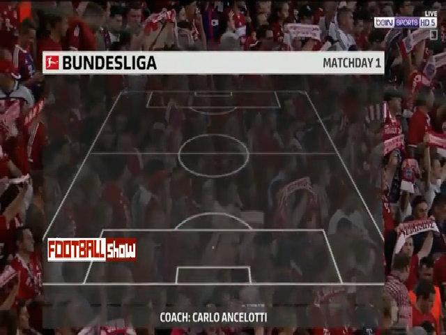 Bayern Munich 3-1 Leverkusen 18/8/2017
