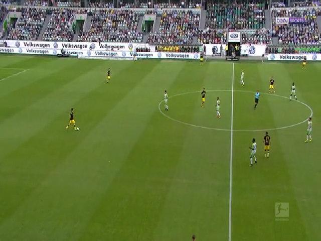 Wolfsburg 0-3 Dortmund