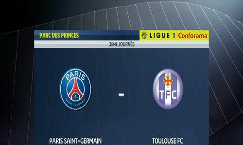 PSG 6-2 Toulouse