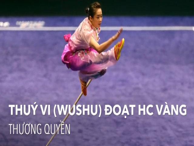 Việt Nam đoạt bốn HC vàng SEA Games ngày 21/8