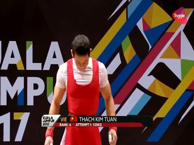 Kim Tuấn giành HC vàng ở hạng cân 56 kg nam