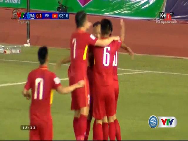Campuchia 1-2 Việt Nam