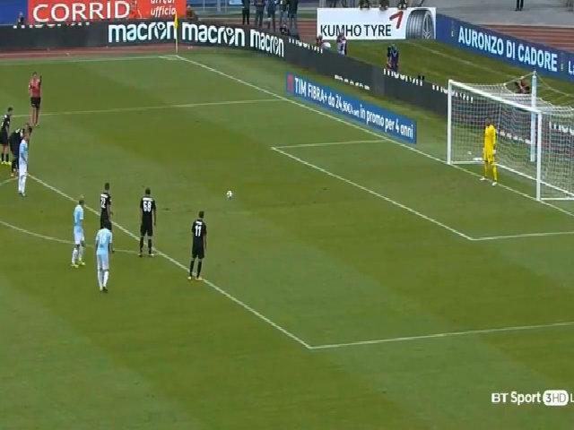 Lazio 4-1 Milan Serie A 2017