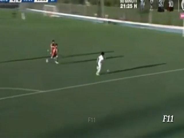 Con trai Marcelo lập hat-trick ở trận ra mắt đội trẻ Real