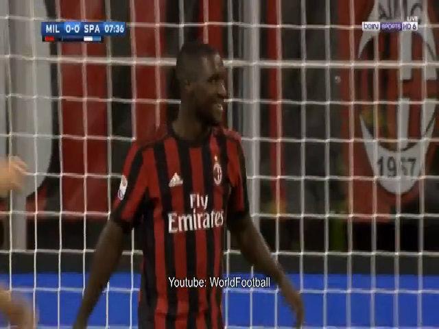 AC Milan 2-0 SPAL