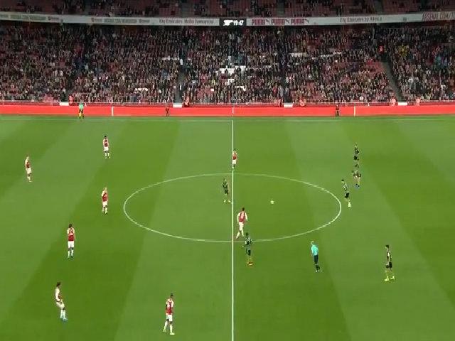 Arsenal 1-0 Doncaster Cup Liên đoàn 2017