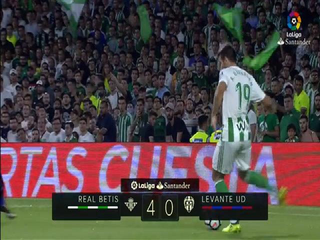 Betis 4-0 Levante