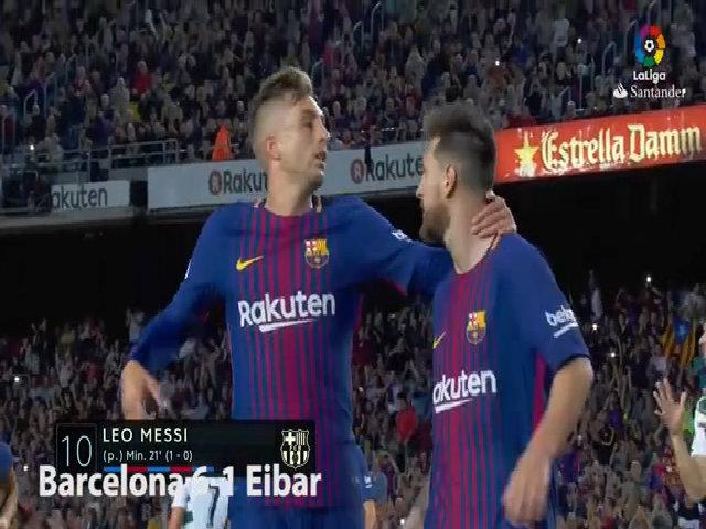 11 bàn thắng của Messi kể từ đầu mùa