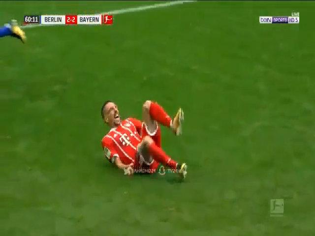 Chấn thương của Franck Ribery