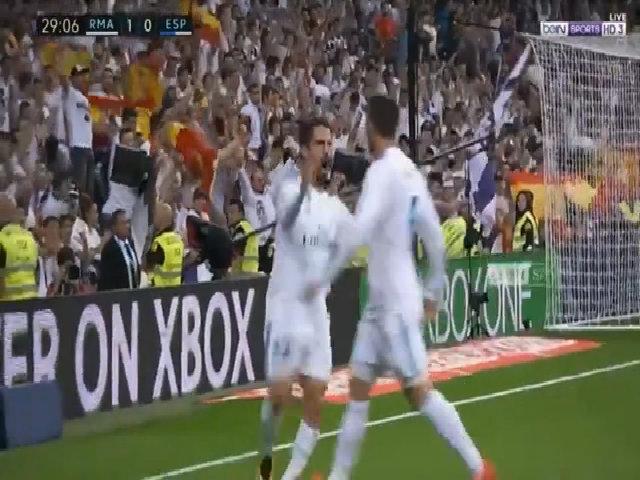 Real Madrid 2-0 Espanyol