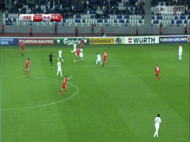 Georgia 0-1 Wales