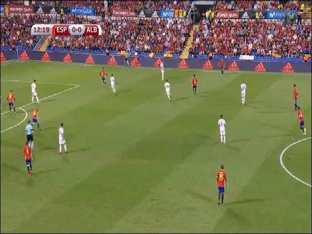 Tây Ban Nha 3-0 Albania