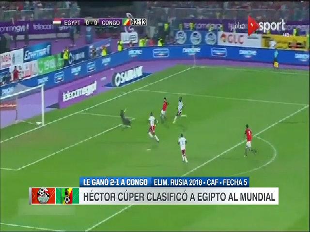 Ai Cập 2-1 Congo