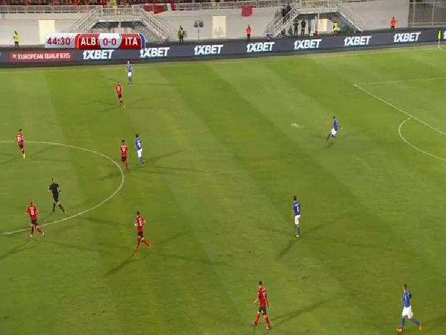 Albania 0-1 Italy
