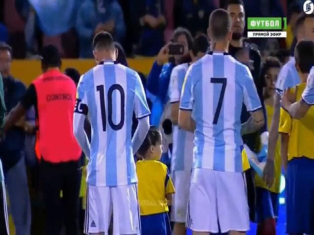 Ecuador 1-3 Argentina vòng loại World Cup 2018