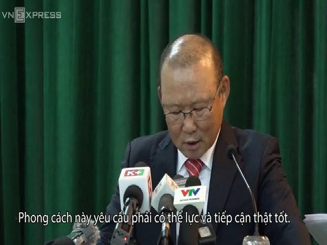 Ông Park Hang-seo làm HLV trưởng đội tuyển Việt Nam