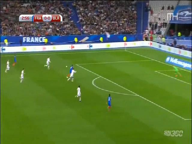 Pháp 2-1 Belarus