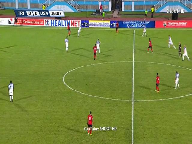 Trinidad & Tobago 2-1 Mỹ