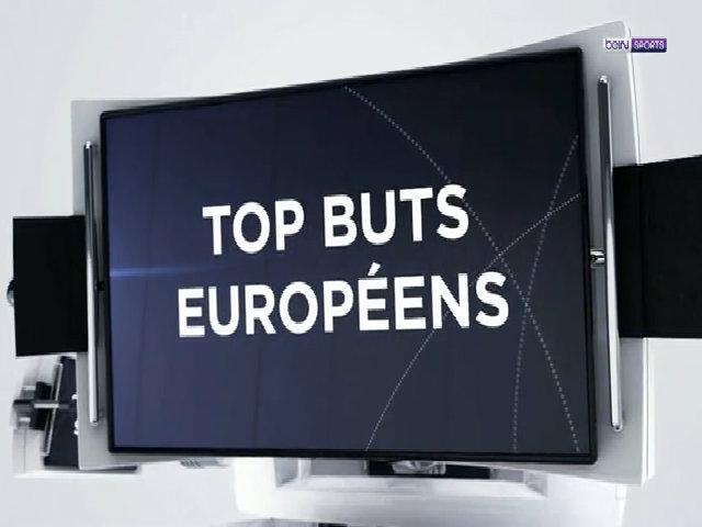 Top 5 bàn thắng đẹp trên các sân cỏ Châu Âu tuần qua
