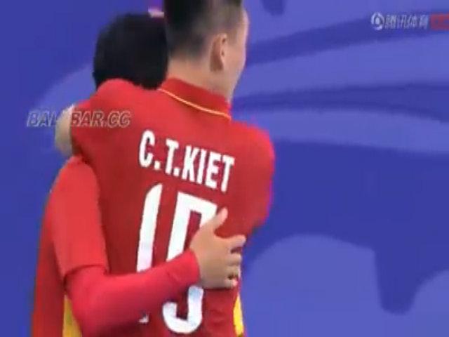 Tuyển futsal Việt Nam đánh bại Trung Quốc