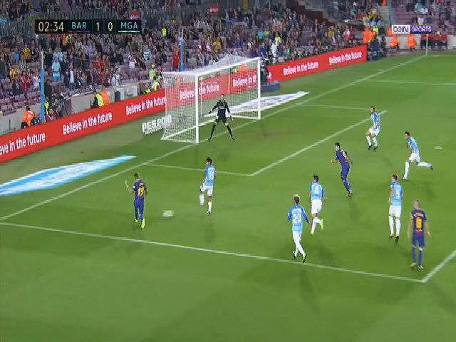 Barcelona 2-0 Malaga