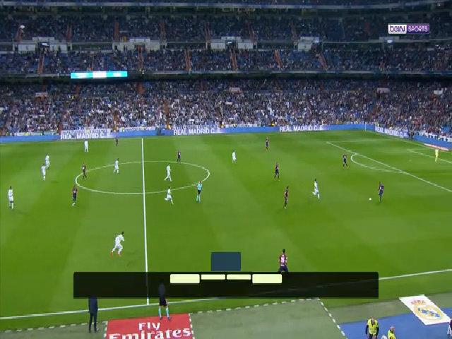 Real Madrid 3-0 Eibar