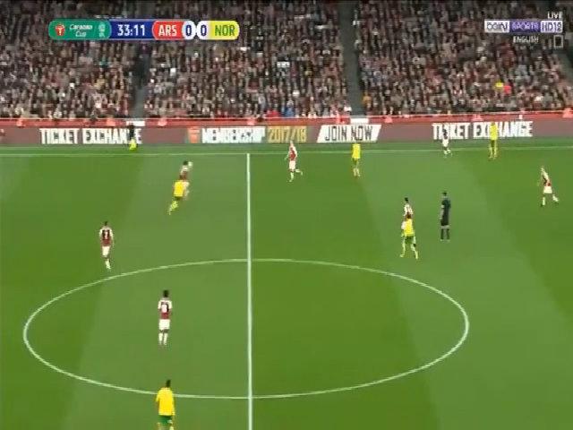 Arsenal 2-1 Norwich