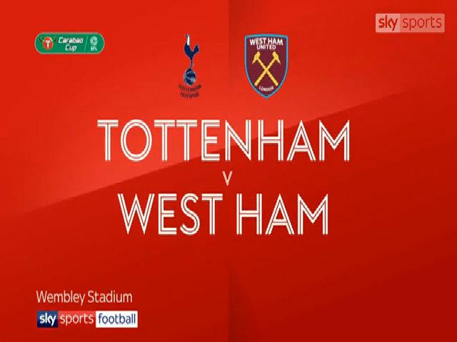Tottenham 2-3 West Ham