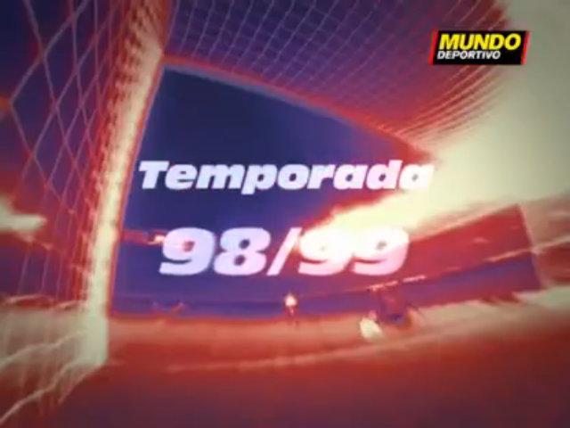 Barca goasls 1998-99