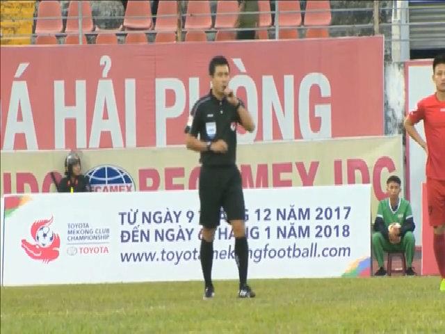 Hải Phòng 2-0 Đà Nẵng