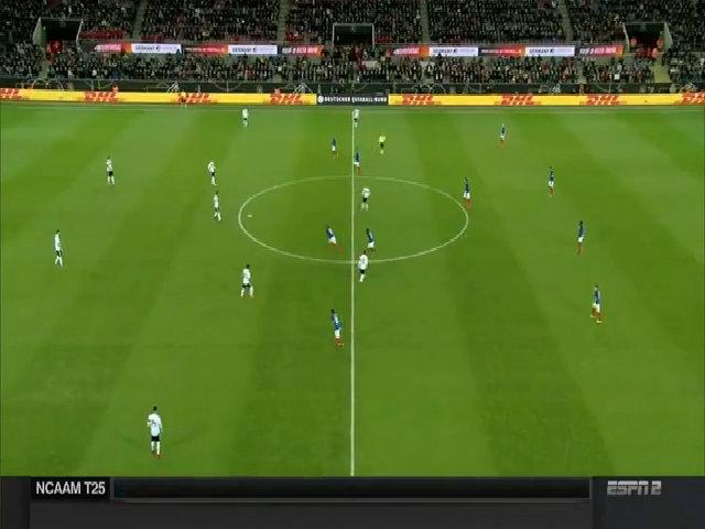 Đức 2-2 Pháp
